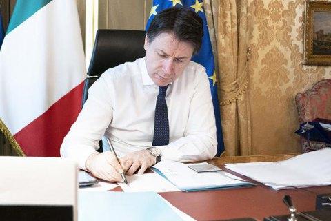 Италия намерена продлить карантин из-за пандемии