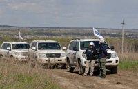 Місія ОБСЄ не помітила обстріл ділянки розведення в Золотому 26 жовтня