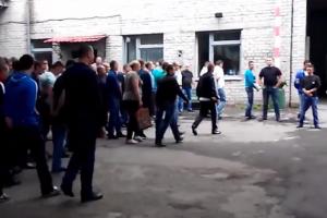 Донецькі міліціонери присягнули на вірність терористам