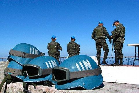 Россия разработала проект резолюции о введении миротворцев ООН на Донбасс
