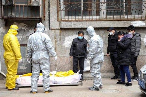 У китайському Хубеї зареєстровано 116 нових летальних випадків від коронавірусу