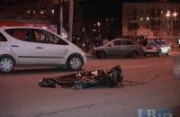 На проспекте Гагарина в Киеве автомобиль сбил насмерть инвалида