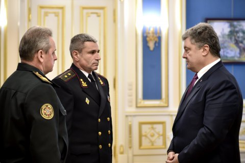 И.о. командующего ВМСУ назначен Воронченко