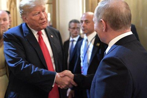 Трамп має намір зустрітися з Путіним у червні