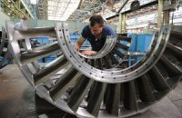 Промисловий спад в Україні уповільнився до 3,7%