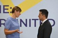 Президентка Естонії зізналась, що радить не інвестувати в Україну