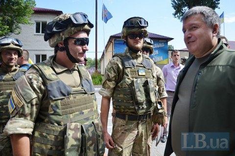 В Луганской и Донецкой областях будут набирать полицейских с боевым опытом