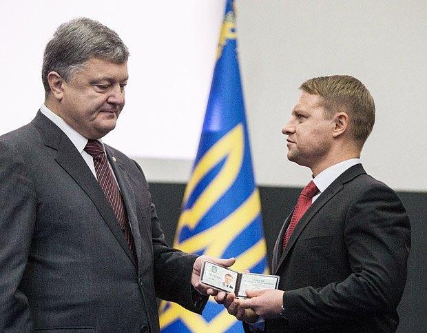 Петро Порошенко офіційно представляє Олександра Горгана колективу обладміністрації