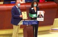 Ув'язнена білоруська опозиціонерка Колесникова отимала премію імені Вацлава Гавела
