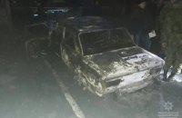 В Желтых Водах автомобиль с полицейскими обстреляли из гранатомета