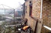У Жованці в результаті обстрілу згорів житловий будинок