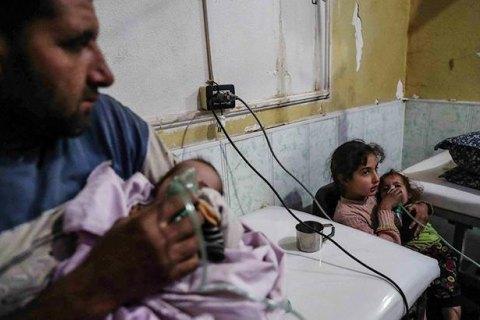 У Сирії знову застосували хімічну зброю, не менш ніж 70 загиблих - волонтери