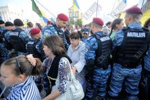 Порядок в Киеве на День независимости охраняют около 4 тыс. милиционеров