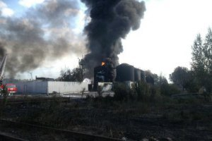 СБУ через пожежу на нафтобазі порушила справу за статтею екоцид