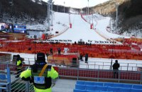Горнолыжные соревнования на Олимпиаде отменили из-за сильного ветра