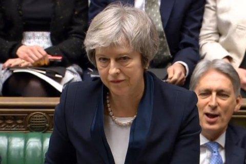 """Мэй завтра выступит с заявлением по """"Брексит"""" перед Палатой общин"""