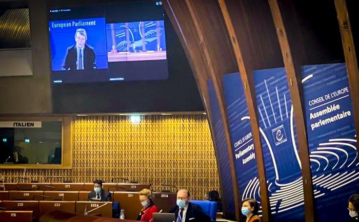Президент Європейського парламенту Давід Сассолі