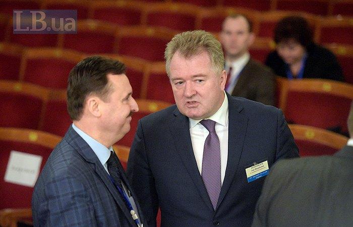 Ігор Бенедисюк (справа)