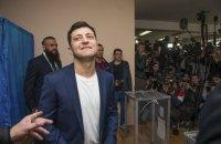 Екзит-поли: Зеленський виграв вибори президента України з величезним відривом