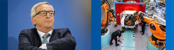 6 Президент Еврокомиссии Жан-Клод Юнкер 'фильтрует' инвестиции в целях защиты промышленности ЕС, 2019 г.