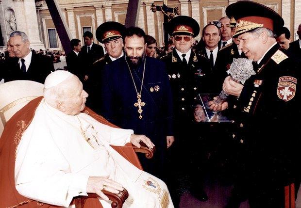 Встреча с Иоанном Павлом II, Ватикан, 2004