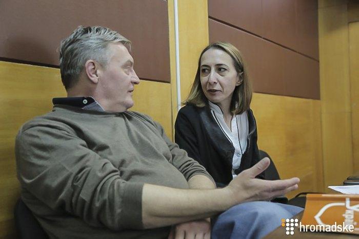 Гримчак і його адвокат Тетяна Матяш