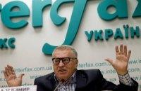 Жириновский пообещал боевикам на Донбассе необходимую помощь