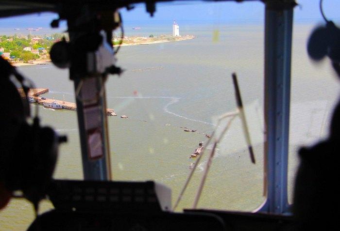 Учения военной морской авиации в Николаевской области, 1 июля 2020.