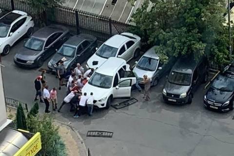 Теща Притулы и Хомутынника сбила женщину с 9-летним сыном в Киеве, - СМИ
