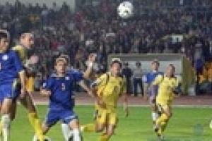 Сегодня футболисты Украины сразятся с Казахстаном