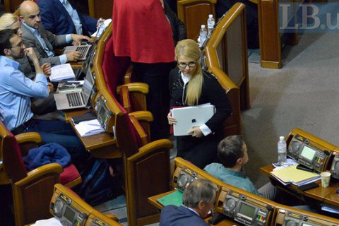 """Тимошенко розповіла, з ким """"Батьківщина"""" об'єдналася б у новому парламенті"""