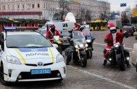 В новогоднюю ночь в Украине будут патрулировать 10 тыс. полицейских