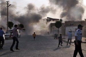 Турция нанесла ответный удар по Сирии