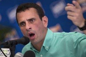 Каприлес согласился стать единым кандидатом от оппозиции на пост президента Венесуэлы