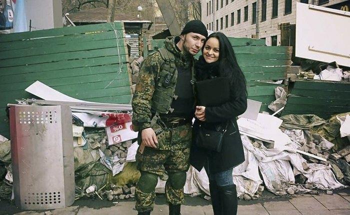 Віталій і Діана познайомилися на Майдані