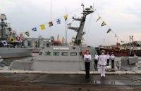 """ВМС Украины получили новый артиллерийский катер """"Костополь"""""""
