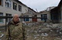 Унаслідок обстрілу в Луганській області поранено міліціонера і військового