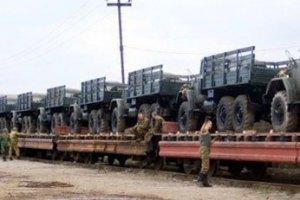 Штаб АТО: в Дебальцеве переправили 40 вагонів з бойовиками і бронетехнікою