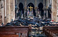 Во Франции принят закон о реставрации сгоревшего Нотр-Дам де Пари