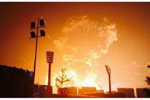 На хімічному складі в Китаї стався вибух