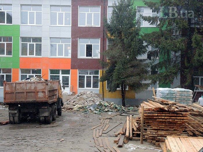Строительство опорной школы в пгт Соленое, Днепропетровской обл