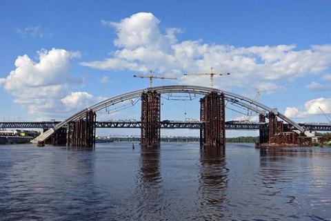 Киев выбрал генподрядчика достройки Подольского моста