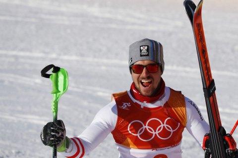 Австрійський гірськолижник Хіршер виграв «золото» Олімпіади в комбінації