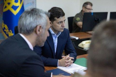 Хомчак доложил Зеленскому о состоянии дел в армии