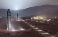 SpaceX представила корабель для польотів на Місяць і Марс