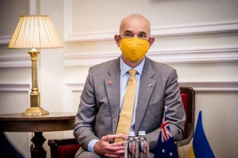 Новый посол Австралии прибыл в Украину