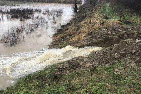 В Закарпатской области подтопленными остаются 116 домов