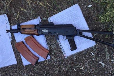 Житель Броваров задержан за стрельбу из автомата Калашникова