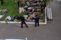 Один из участников драки в Конотопском горсовете задержан в Киеве