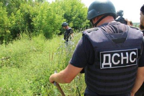 Саперы нашли возле моста в Станице Луганской 31 мину